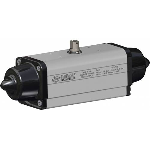 OMAL铝弹簧复位气动执行器SR型