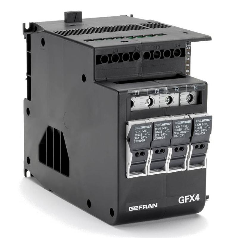 GEFRAN功率控制器 GFX4-SSR系列