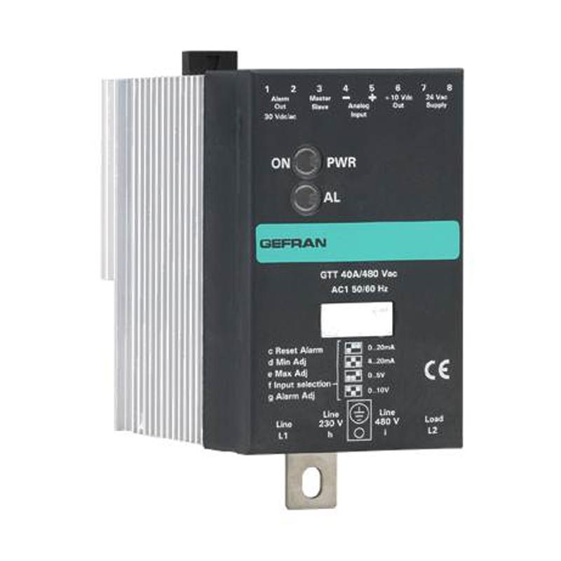GEFRAN功率控制 固态继电器GTT系列