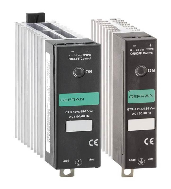 GEFRAN功率控制-固态继电器带/不带散热器 GTD 系列