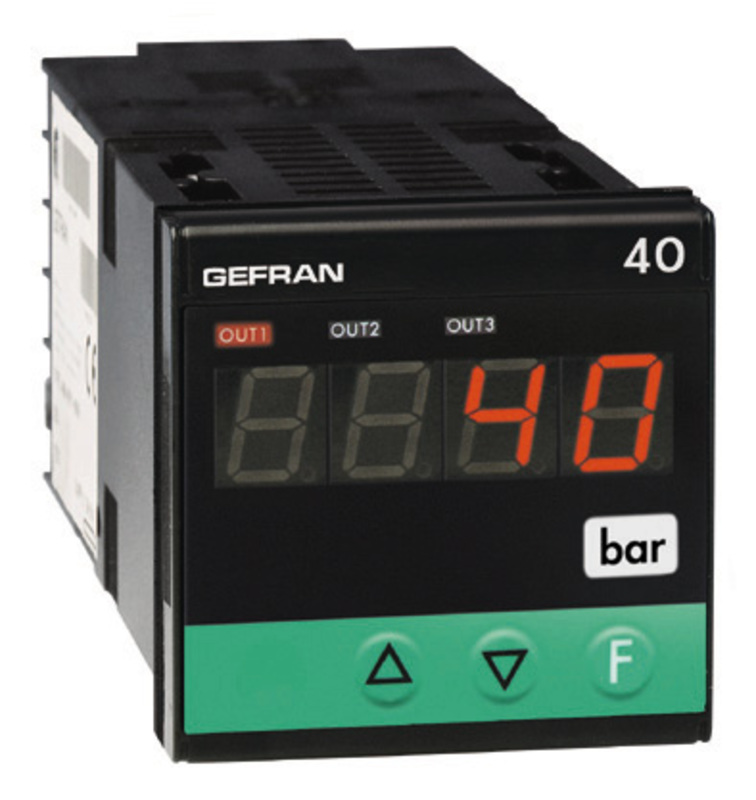 GEFRAN指示器和报警单元 Pressure, force and position inputs 40B48 Indicator/Alarm Unit for force, pressure and position inputs