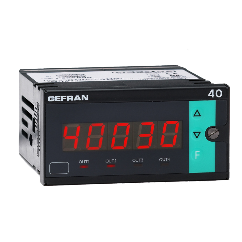 GEFRAN指示器和报警单元 Pressure, force and position inputs 40B96 Indicator/Alarm Unit for force, pressure and position inputs