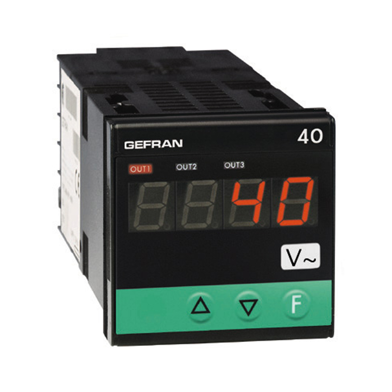 GEFRAN指示器和报警单元 Voltage and current inputs 40A48-96 Indicator/Alarm Unit for tension and current inputs