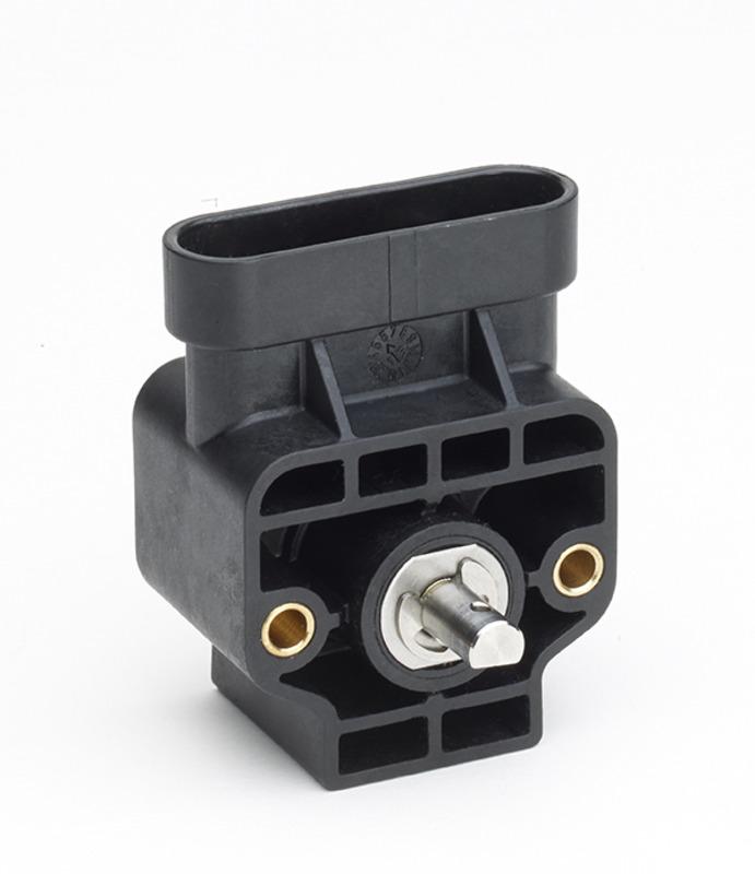 GEFRAN角度传感器 GRA Hall-effect single-turn rotary sensor with shaft