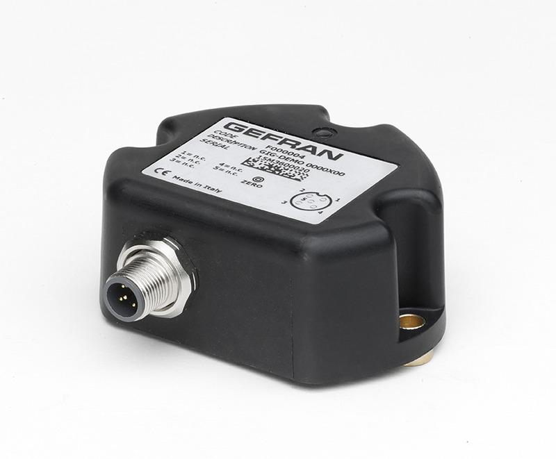 GEFRAN斜度传感器 GIG General single/dual axis inclinometer (XY/360°)