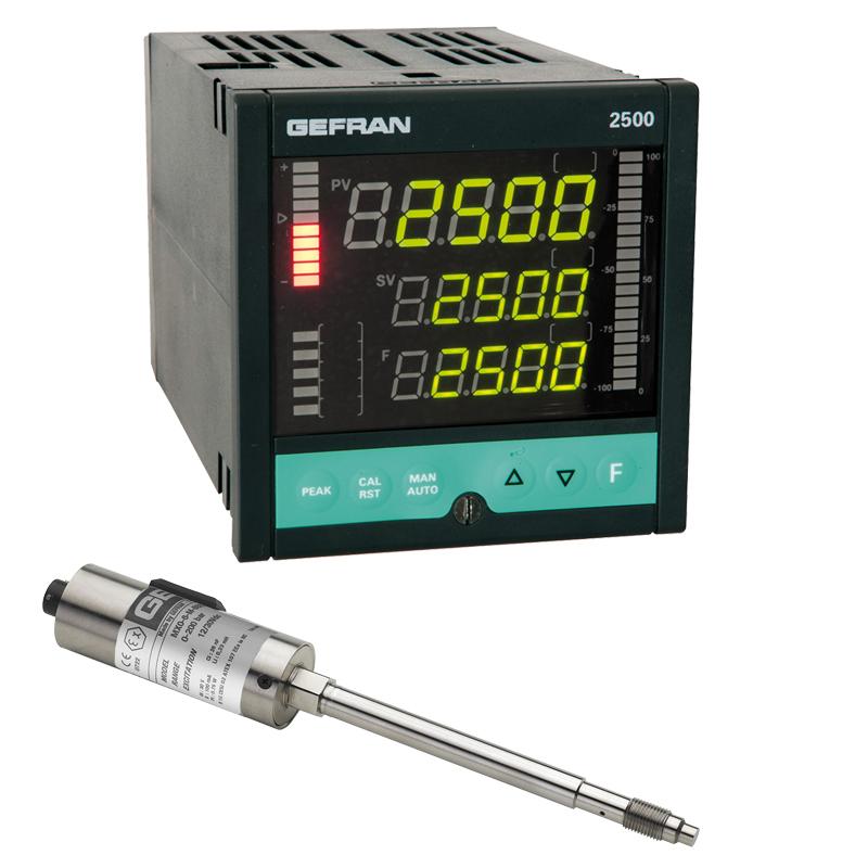 GEFRAN熔化高温压力传感器MO Pressure control set (1/4 DIN)
