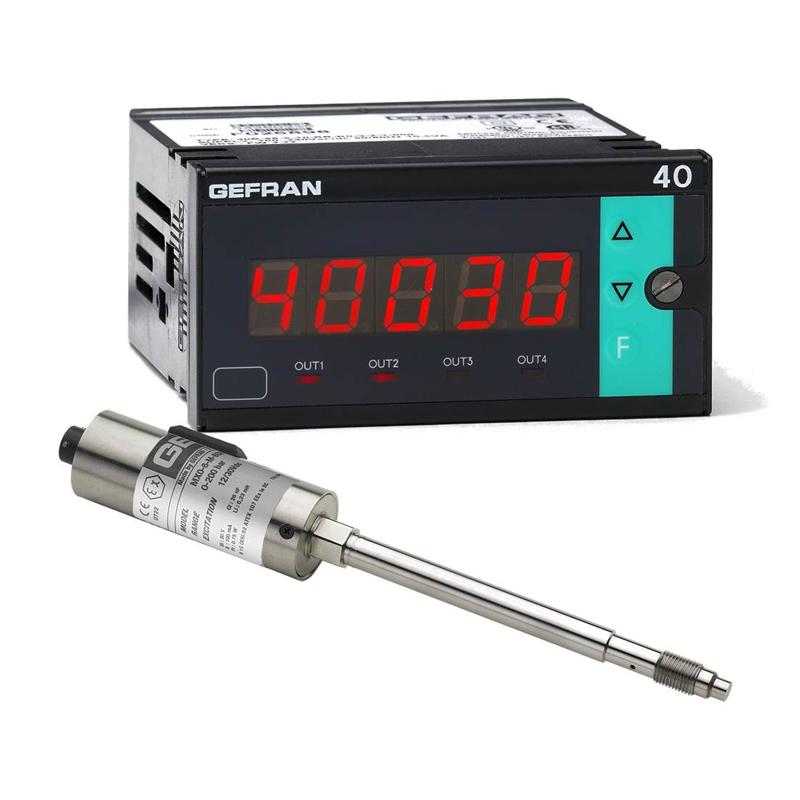 GEFRAN熔化高温压力传感器M7 Pressure monitoring set (1/8 DIN)