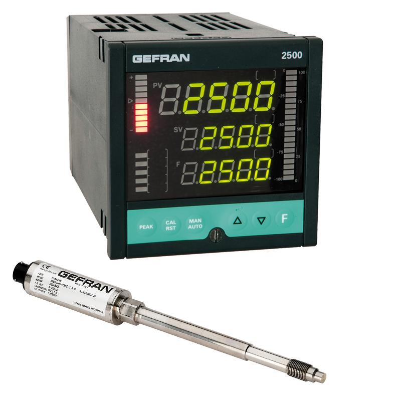 GEFRAN温控表W0 Pressure control set (1/4 DIN)
