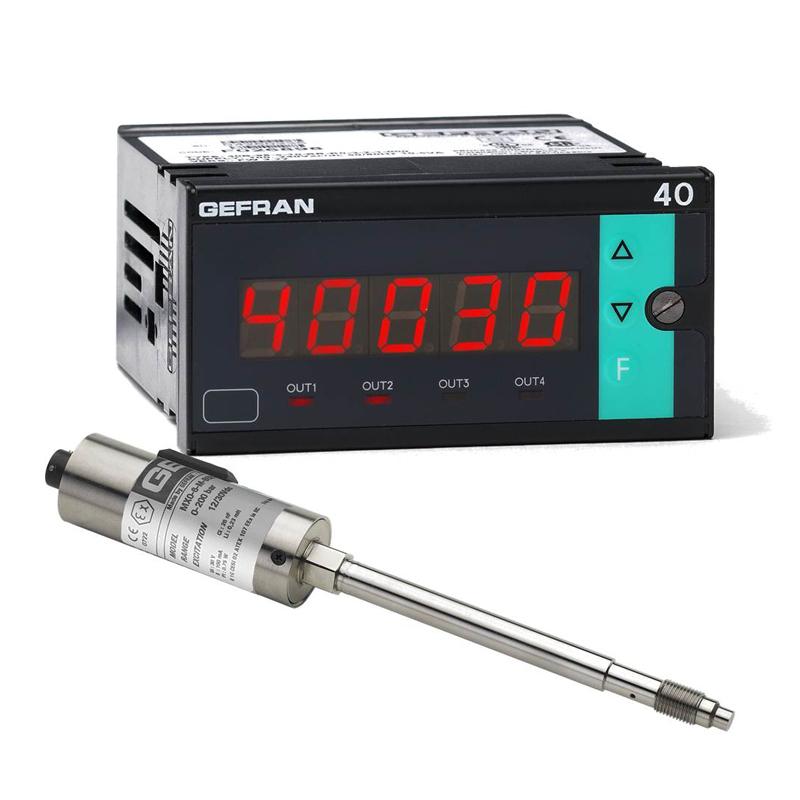 GEFRAN温控器W7 Pressure monitoring set (1/8 DIN)