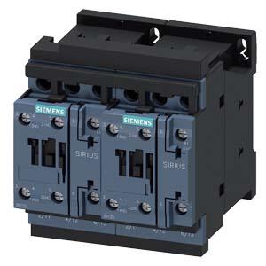 SIEMENS 西门子 SIRIUS 3RA23 reversing contactor assemblies, up to 55 kW