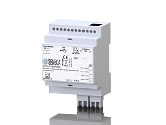 意大利Seneca 以太网到光纤转换器。单模/多模光纤-单环路/双环转换器。SETH-FO