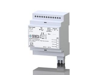 意大利Seneca CAN到光纤转换器。单模/多模光纤-单环路/双环转换器。SCAN-FO