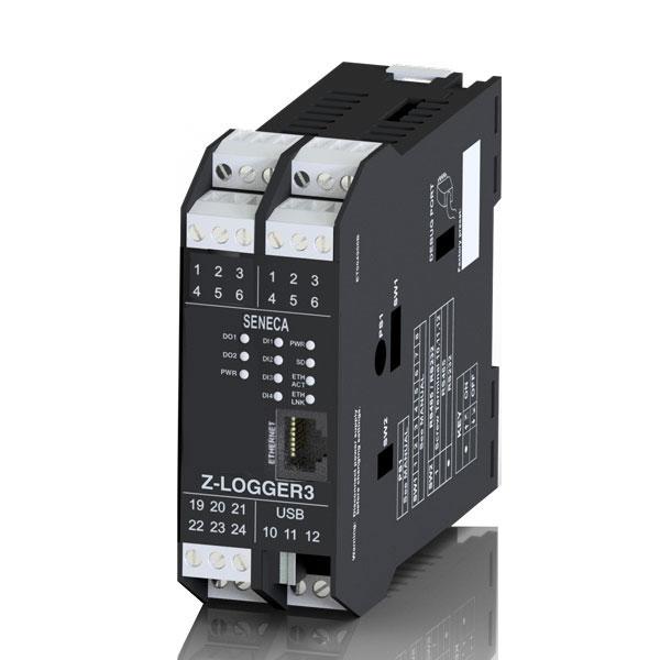 意大利Seneca 内置IOs、遥控功能和高级编程语言的GSM/GPRS数据记录器Z-GPRS3