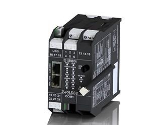 意大利Seneca IEC 61131控制器、斯特拉顿集成开发环境、集成输入/输出的虚拟专用网路由器、全球定位系统接收器和3G+(*)调制解调器Z-PASS2-S