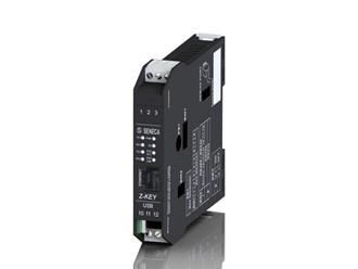 意大利Seneca 2端口ModBUS-RTU工业网关/串行设备服务器Z-KEY