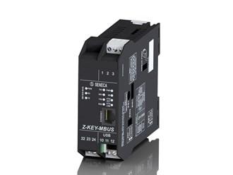 意大利Seneca M-BUS <-> ModBUS RTU/TCP-IP protocol Converter Z-KEY-MBUS