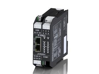 意大利Seneca支持虚拟专用网的工业网关——嵌入式输入输出的串行设备服务器Z-PASS1