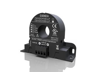 意大利Seneca交流/DC无接触TRMS电流(300安)传感器,霍尔效应,4..20毫安AO T201DCH300-LP