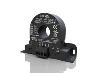 意大利Seneca  交流/DC无接触TRMS电流(300安)传感器,霍尔效应T201DCH300-M