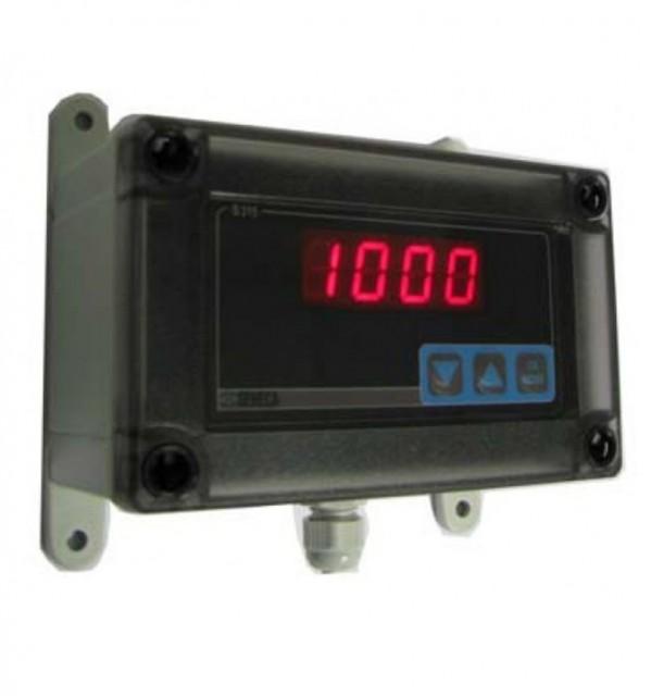 意大利Seneca 带有4-20 mA输入信号和IP66外壳的4位环路供电显示器S315-IP66