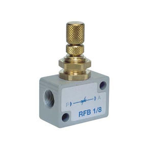 AZ PNEUMATICA流量校准器阀门 / 用于空气 / 双向 / 单向 RFB, RFU, RFUM, RFP SERIES