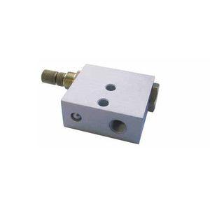 AZ PNEUMATICA快速释放阀 / 用于空气 / 镀镍黄铜 / 铝制