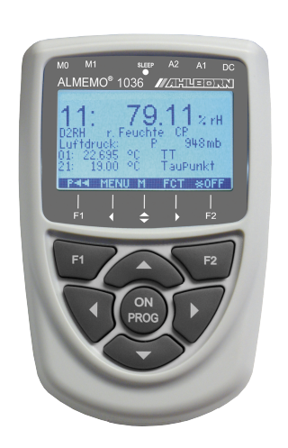 德国爱尔邦AHLBORN湿度ALMEMO®1036-2的参考测量设备(分辨率°C = 0.001 K,%RH = 0.01 K)