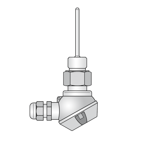 AHLBORN不同版本的安装传感器
