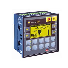 UNITRONICS 嵌入式可编程控制器 128 x 64 pixels, RS232, RS485