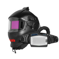 TELWIN  自动遮光焊接防护面罩 AIR PRO GRANDVIEW PAPR
